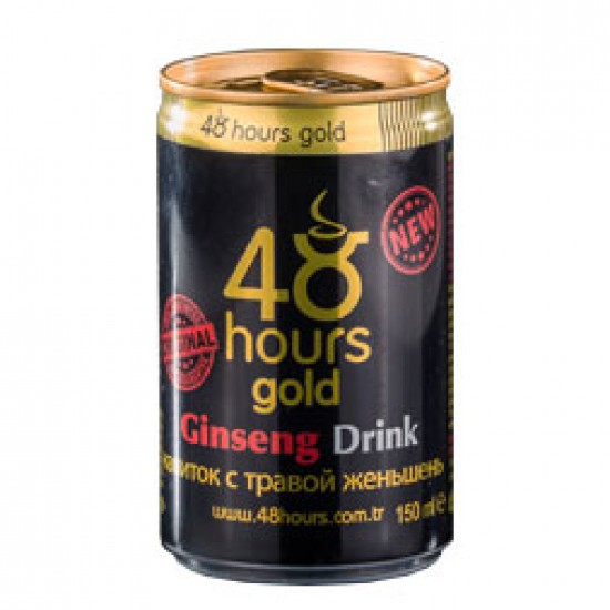 48-Hour Gold Shot Turkish Energy Drink FOR MEN with Pomegranate Flavor, Epimedium Ginseng Turkish Energy Drink, Erectile Dysfunction Energy Drink, Sexual Performance, Unique Formula, Alcohol-Free, Long-Lasting 48 Hours Effect, 2 × 150 ml