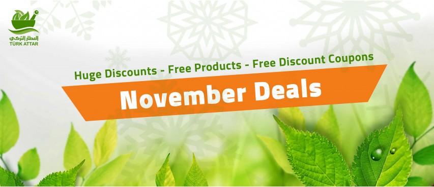 Turk Attar november deals