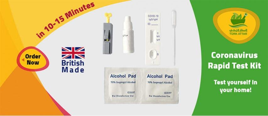 Coronavirus Rapid Test Kit