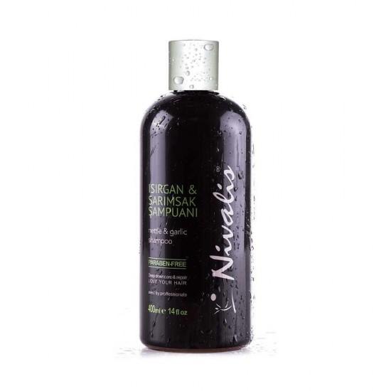 Nettle and Garlic, paraffin-free, Shampoo, 400 ml