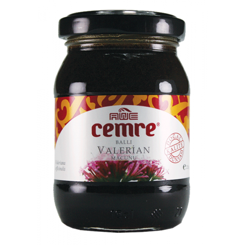 معجون العسل التركي وجذر الفاليريان. حشيشة الهر, مضاد للأرق, محسن النوم, 215 غرام