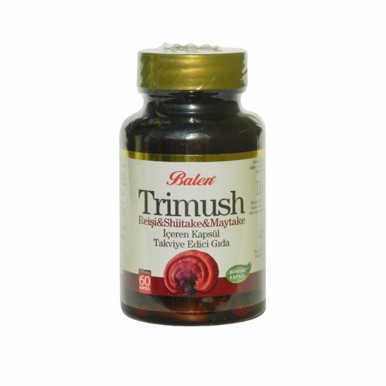 Reishi Shiitake Maitake Extract Caps, 375 mg, 60 Capsules