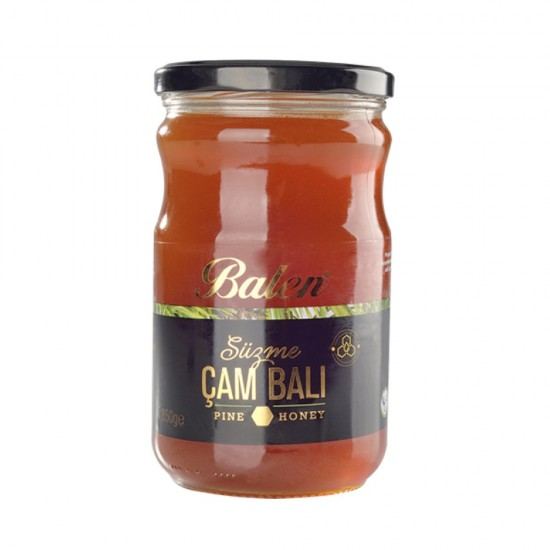 Turkish Pine Honey, Forest Bees Pine Honey, Balen, 250 gr