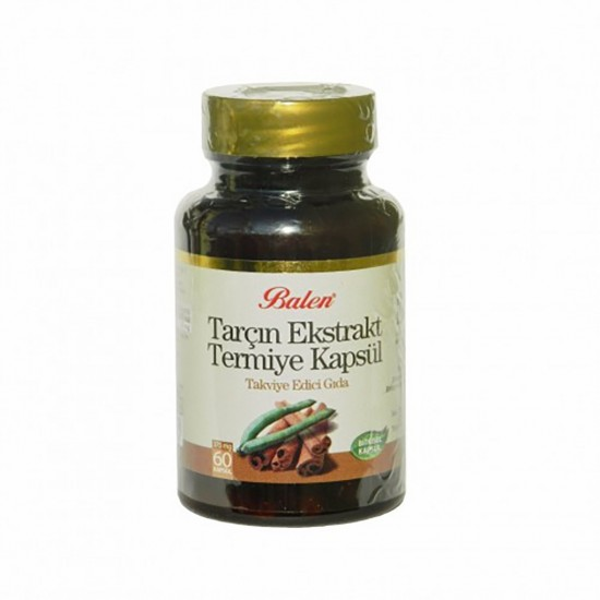 Cinnamon, Lupine seeds, Herbal Extract,375 mg, 60 Capsules