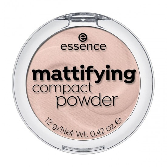 ESSENCE Mattifying Compact Powder, Light Beige 10, 100% Cruelty-free & Vegan, 12g 0.42 oz