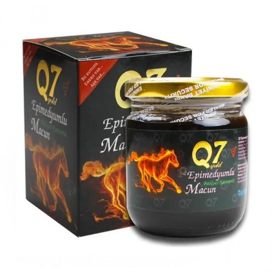 Gold Q7 Epimedium Turkish Honey, Epimedium Paste, Original Product, 3×50gr