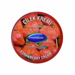 كريم الفراولة الطبيعي لتفتيح البشرة, البشرة الداكنة والتصبغات, 200 مل