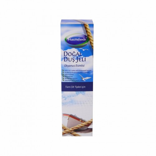 Natural Shower Gel, Ocean Breeze, Black Sea, 250 ML