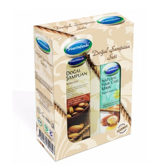 Special Offers, Organic Argan Oil Mask and Turkish Almond Shampoo Set