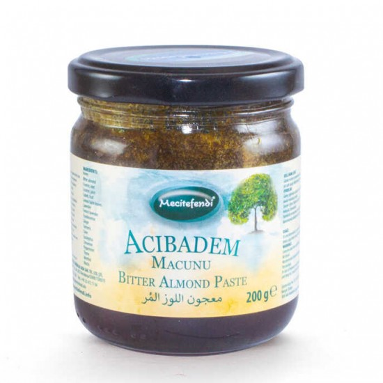 Turkish Bitter Almond Paste, Herbal Extracts within Turkish Honey, Lung Detox Paste, Detox Liver, Digestive System, Fight Fatigue, 200 gr