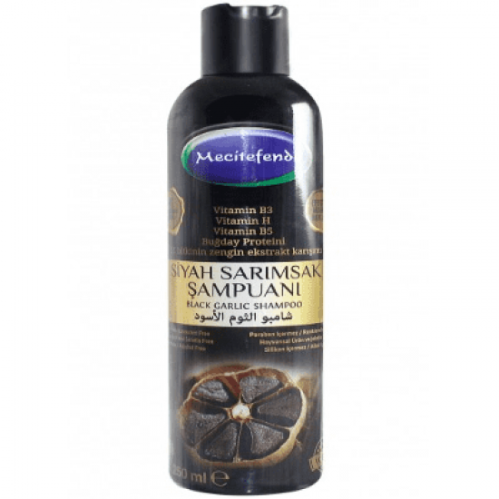 Natural black garlic shampoo 100% to prevent hair loss and fight dandruff (250 ml)