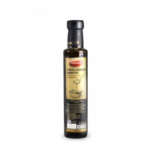 Carob Molasses with Propolis and ginger, 250 ml