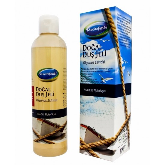 Natural Shower Gel, Ocean Breeze, Black Sea, 250 ML