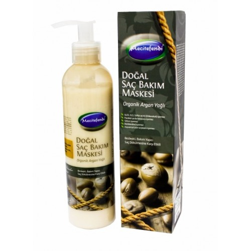 Organic Argan Oil, Natural Hair Mask, 250 ML