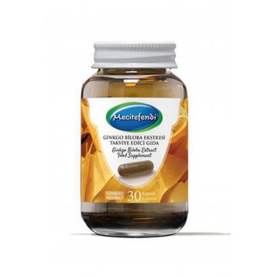Ginkgo Biloba Extract Capsules, Food Supplement, 550 mg, 30 Caps