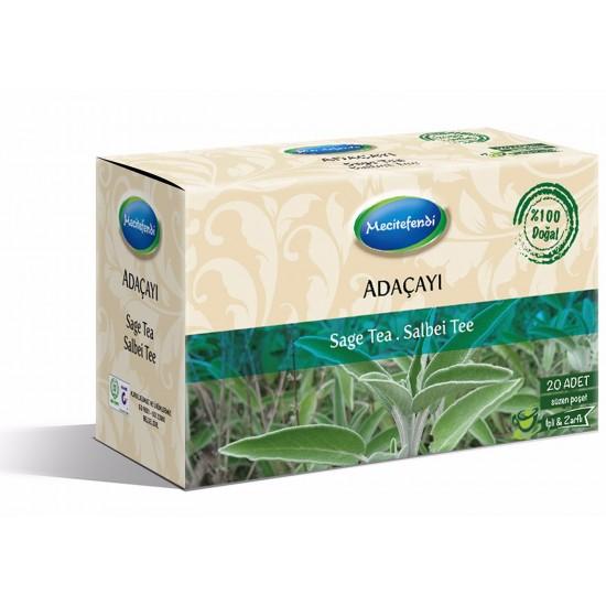 شاي الميرمية, مقوي للذاكرة, مقوي للجسم, ميرمية تركية, 20 ظرف