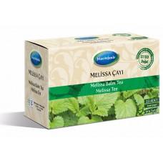 شاي المليسا التركي, مهدئ للأعصاب, علاج المشاكل الهضمية والتنفسية, 20 ظرف
