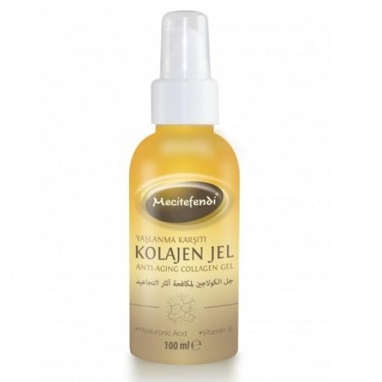 Turkish Collagen Regenerist Gel Lifting & Firming Anti-Aging Collagen Gel for Face Improves Elasticity, Evens Skin Tone, Plumps, & Lifts Sagging Skin Wrinkle Gel 100ml