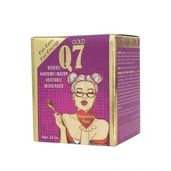 Gold Q7 Chocolate Turkish Honey,  Aphrodisiac Chocolate Paste, Women Frigidity Treatment , 3×50 gr