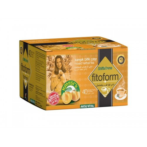 #1 FitForm Tea with L Carnitine - Turkish Herbal Slimming Tea with L Carnitine - First Slimming Tea Formula with L Carnitine - Weight Loss Tea - Improves Energy - Mixed Herbal Tea 40 bags - 80 gr