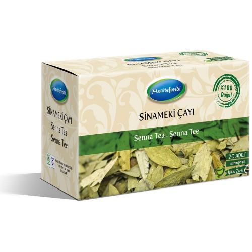 Senna Tea to Cure Constipation, Turkish Herbal Tea, 20 Teabags