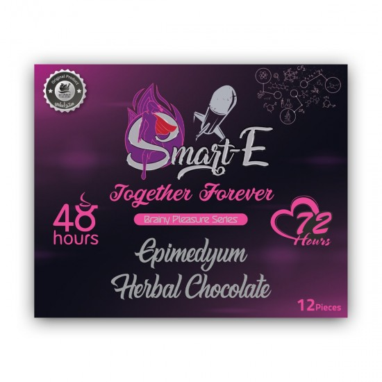 Together Forever Aphrodisiac Chocolate Kit, Smart Erection Chocolate For Men + For Her Chocolate For Women, 6+6, 12 pieces
