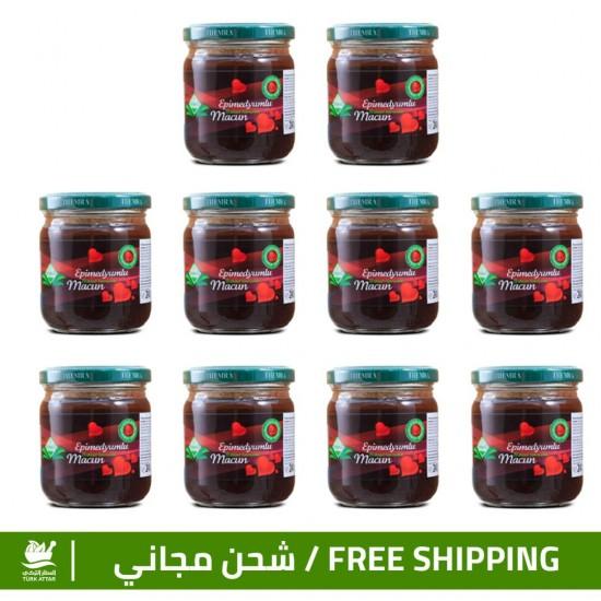 Epimedium Turkish Honey Offers, Epimedium Paste, Original Macun, 240 gr × 10
