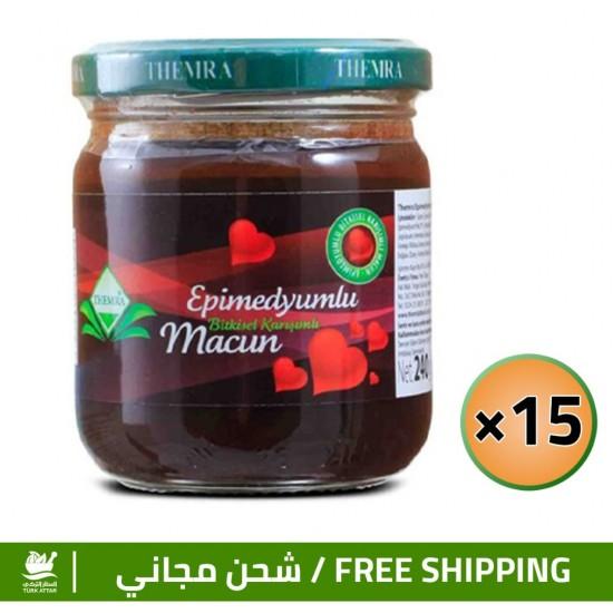 Epimedium Turkish Honey Offers, Epimedium Paste, Original Macun, 240 gr × 15