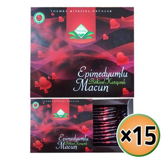 Epimedium Offers New Themra Epimedium Macun, Special Formula Macun, Original Epimedium Macun 15 × 144 gr
