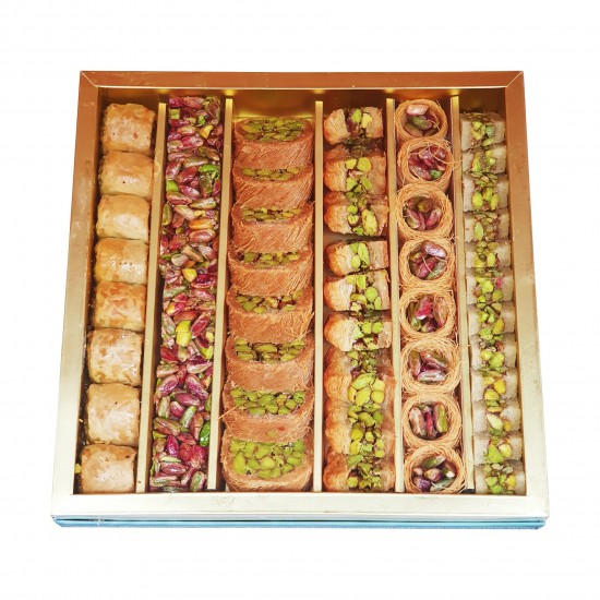 Turkish sweets, Assorted Turkish desserts Extra, Antep Pistachio delight, 850 gr
