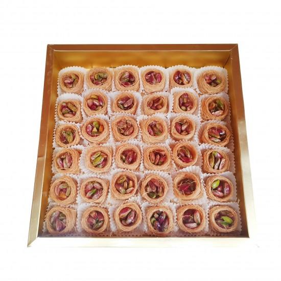 Turkish sweets, Luxury Birds Nest Pistachio delight 425 gr