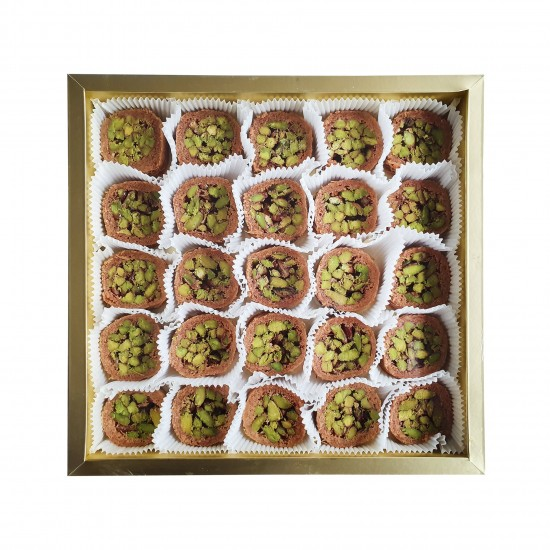 Turkish sweets, Luxury Mabrooma Pistachio delight 550 gr