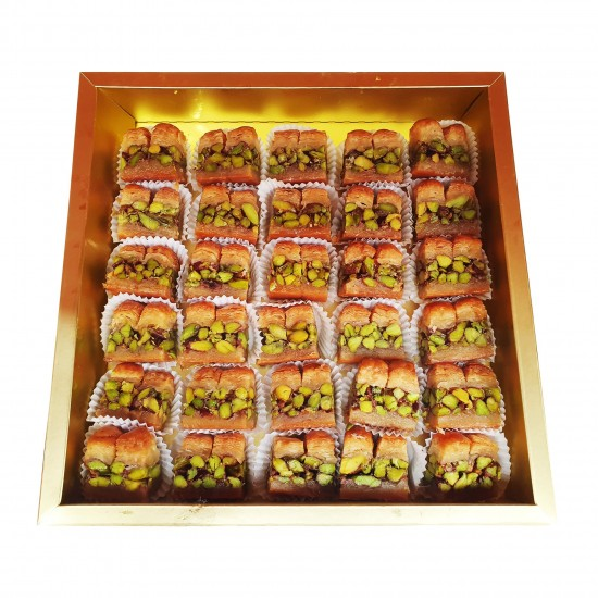 Turkish sweets, Luxury Asyeh Pistachio delight 625 gr