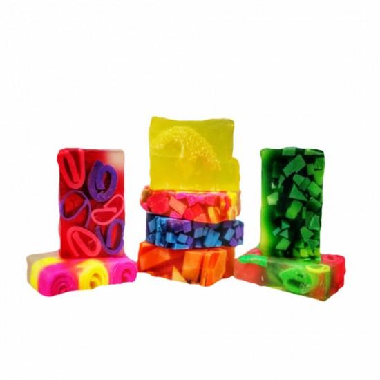 صابون تروبيكال فانيليا, صناعة يدوية, 100 غ, عبوة 5 قطع