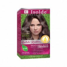 صبغة الشعر بالأعشاب, آيزولد مالتي بلس, تركيبة الزيوت النباتية, 4N, كستنائي غامق, 135 مل