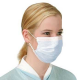 50 x Flu Surgical Face Masks with Earloops Antivirus and Pollution Protection, 1box x 50 Unit, 50 mask
