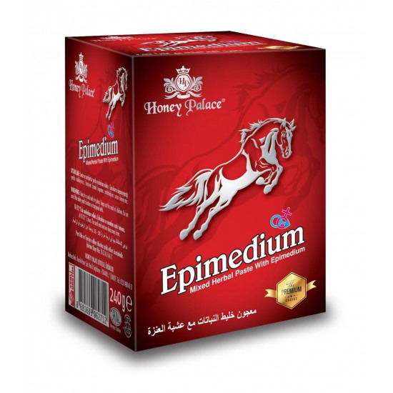 WILD HORSE Paste, Epimedium Turkish Honey, Epimedium Paste, Honey Palace, The Premium Choice, 240 gr