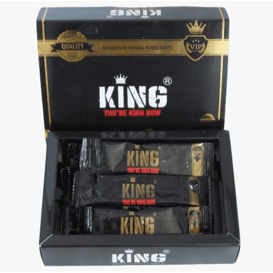 King Herbal Epimedium Macun Paste Aphrodisiac King Ready to Use Bags15 ×12, 180 gr