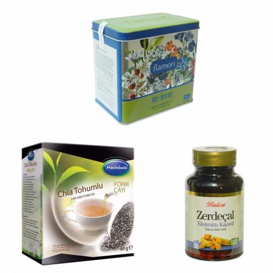 Turkish Slimming Group, Flamori Life Form, Chia Seed Form, Turmeric Extract