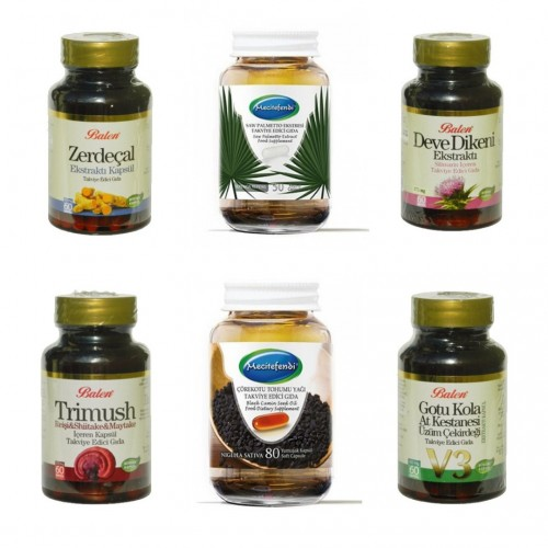 Turk Attar Detox Set, Regulate Digestive System, Improve Liver Function, Boost Immune System, General Tonic
