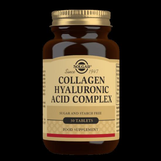 Solgar Collagen Hyaluronic Acid Complex 30 Tablets
