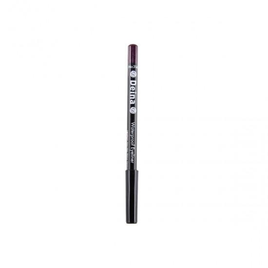 Deina Eye Pencil Waterproof Eyeliner - Purple 314 Eye Pencil - Lip Pencil