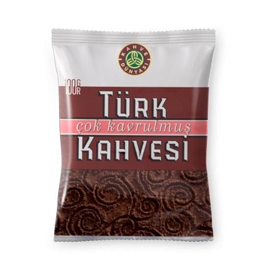 Turkish Coffee, Kahve Dunyasi Coffee, Coffee World, Dark Roast Coffee, 100 gr