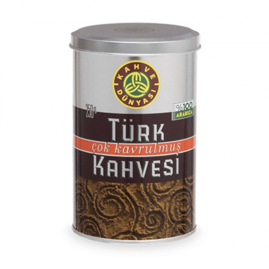 Turkish Coffee, Kahve Dunyasi Coffee, Coffee World, Dark Roast Coffee, 250 gr