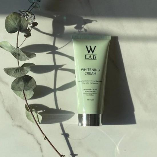 Turkish Skin Whitening Bleaching Cream Face Whitening, W-Lab, Alpha Arbutin, Licorice Root, Shea Extract, Glabridin, Prolonging Effect, 100 ml